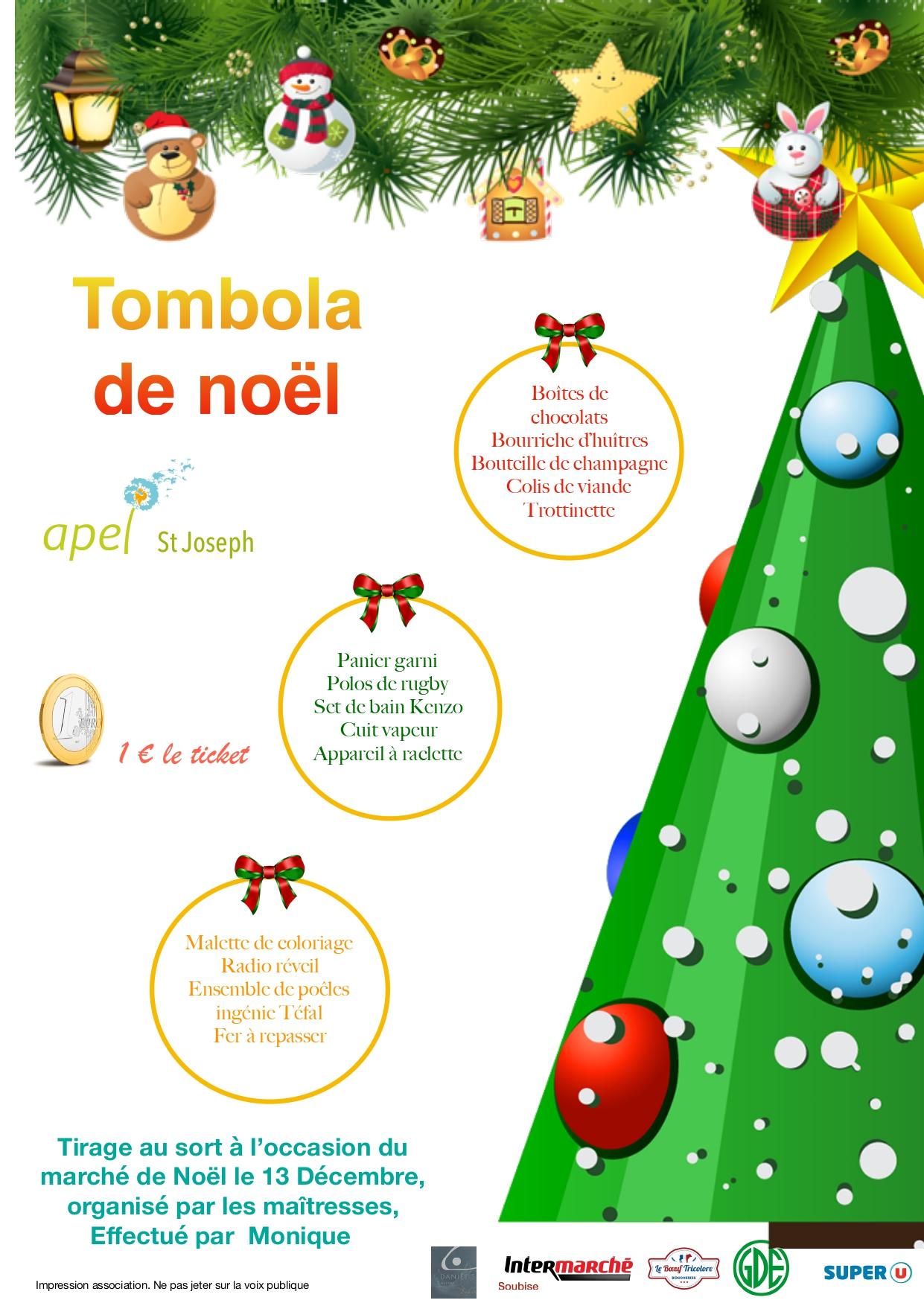 Tambola Marché de Noël
